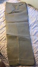 Vintage USMC Keystone Khaki Colored Button Pants USMC Colonel H.G. Edebohls 1951