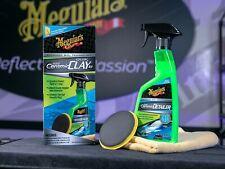 MEGUIAR'S Hybrid Ceramic Quik Clay Kit Auto Detailing Car Paint Restoration