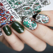 BORN PRETTY Water Decal Arabesque Nail Art Transfer Sticker Decoration BPY37