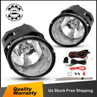 for 2002 2003 2004 Nissan Xterra Clear Bumper Fog Light Lamps w/Bulbs Left+Right