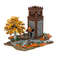 MOC Watch Tower City Building Model Blocks Kids Educational Assemble Toys Gifts