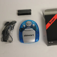 Stewart Fm Scanner Radio with torch light Ear Phones and Batteries New
