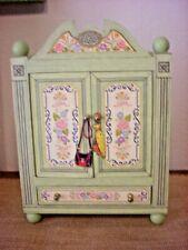 Mary Engelbreit Doll Closet Cupboard Drawer Armoire Ann Estelle Child's Play