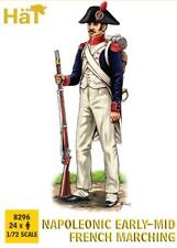 HaT 8296 Napoleonic Early-Mid French Marching. 1/72 scale. 24 Figures.
