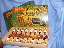 Vintage Disney Mazda Bambi Disneylights Christmas RARE Lights WORKING 16 Set