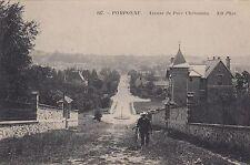 Pomponne AK 1913 Bicyclette Avenue Seine-et-Marne Frankreich France 1702125