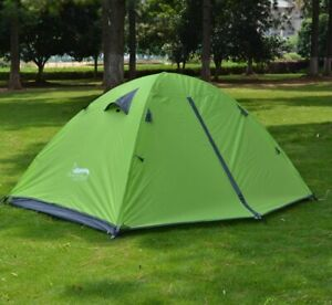 Outdoor Camping Double Layer Tent 2 person Lightweight Portable Hiking Traveling