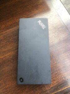 Lenovo ThinkPad USB-C Dock Gen.2 - Black (40AS0090EU)