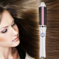 Chauffage électrique sans fil Bigoudi Brosse à cheveux bouclés Styler Salon