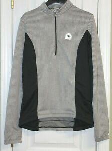 Sugoi Women's 1/2 Zip Ultra Sensor Cycling Shirt ~ Size L ~ Short Sleeve