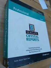 SEAGATE CRYSTAL REPORTS SOFTWARE PROFESSIONAL Version 8 PC WINDOWS