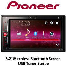 "Pioneer MVH-A210BT - 6.2"" Mechless Bluetooth Screen iPhone USB Tuner Stereo BNIB"