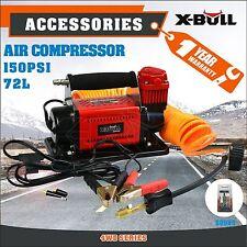 X-BULL 12V Air Compressor Tyre Inflator 4x4 Car Truck 72L/MIN Portable 4WD