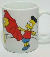 The Simpsons Mug Cup Espana Spain Homer Simpson Bart Matador Matt Groening