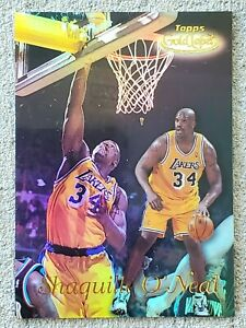SHAQUILLE O'NEAL 1998-99 Topps GOLD LABEL Basketball Card #GL2 LAKERS NBA HOF