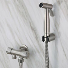 Stainless Steel Bidet Sprayer Set Toilet Handheld Hygienic Shower Anaal Douche