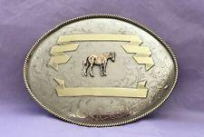 sharprepublic Native American Belt Buckle Rodeo Cowboy Large Belt Buckles,Round