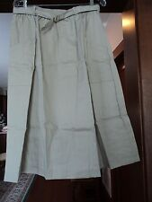 Andrew McMullen of ME A-line Cotton/poly Skirt TAN Women's size 20 NEW L@@K!