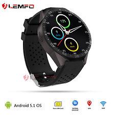 Lemfo KW88 Bluetooth Sport SIM GPS WIFI Wrist Reloj Inteligente For IOS Android