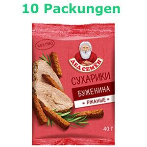 Roggenbrot Croutons Schweinebraten Geschmack 10 Packungen Brotchips