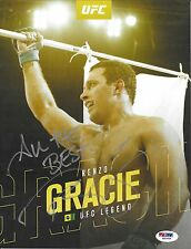 Renzo Gracie Signed 8.5x11 Photo PSA/DNA COA UFC Promo Picture Autograph Pride