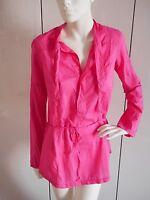 DIESEL Damen Oberteil Bluse Shirt Top Langarm Tunika Hemd Gr. M original