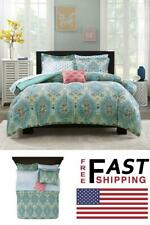 Comforter Set Full Size Monique Paisley Bed-In-A-Bag Polyester Bedding Accessory