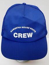 KAWARTHA HOUSE BOATS CREW Boating Advertising SNAPBACK HAT TRUCKER DAD HAT