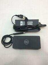 New listing Dell D6000 Universal Usb-C Usb 3.0 Uhd 4K Docking Station M4Tjg 130w Adapter #H4