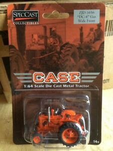 """CASE ZJD 1656 """"DC-4"""" GAS WIDE FRONT TRACTOR SPECCAST DIECAST SCALE 1/64"""