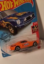 """Hot Wheels '68 Ford Mustang Shelby Gt500 """"Gulf Racing"""" Custom"""