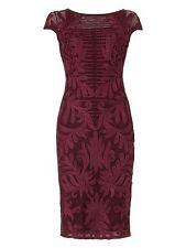 Phase Eight Trini Tapework Dress Purple Size UK 18 Dh078 NN 08