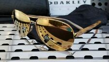 New Oakley  FEEDBACK Sunglasses 4079- 3759 Gold w/ Prizm Rose Gold Polarized