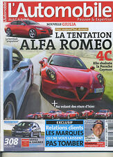 L'AUTOMOBILE MAGAZINE n°810 11/2013