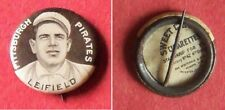 1910 Sweet Caporal Pins Lefty Leiifield Pittsburgh Pirates