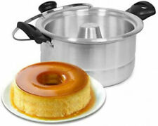 Flan Maker Mold Double Boiler /Flanera con Baño de Maria