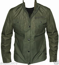 New G-Star Raw Mens Jacket Flich Bonded in Sage Colour Size XL