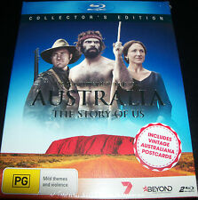 Australia The Story Of Us Collectors Edition + Postcards (Aus Reg B) Bluray NEW