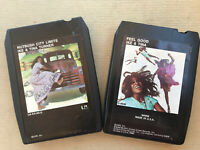 Lot (2) 8 Track Music Tapes by Ike & Tina Turner Nutbish City Limits & Feel Good