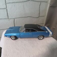 Hot-Wheels-Collectibles-1-18-Diecast-1969-Dodge-Charger-R-T-Blue