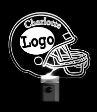 Football Helmet Night Light Personalized with name and logo, nightlight, lamp