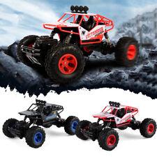 1:16 RC Car 2.4G 4WD Rock Crawler Remote Control Car Model Off-road Vehicle Toy
