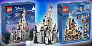*RARE* LEGO Disney Castle 71040 SEALED BOX AT HOME! READY TO GO!!