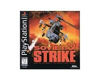 Soviet Strike Sony Playstation 1 Game PS1 Used