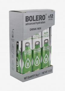 Bolero Apfel Drink - Instant Getränkepulver - 12 Sticks