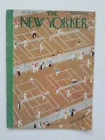 The New Yorker Magazine ~ July 28, 1934 A. Kronengold Tennis Courts and Players