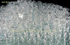 500 Small Plastic Cosmetic Containers Wholesale Jars Clear 5 Gram 5 Ml || 5014