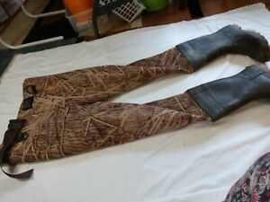 Winchester Mossy Oak Waders unisex Duck Hunting. Fishing. Sz 11 pants boots #208