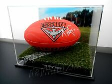 ✺Signed✺ TIM WATSON Football PROOF COA Essendon Bombers 2017 Guernsey