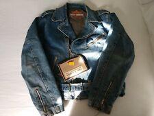 HARLEY DAVIDSON Men's Basic Rider Jacket, NWT, Size M, #98124-98VM/000M